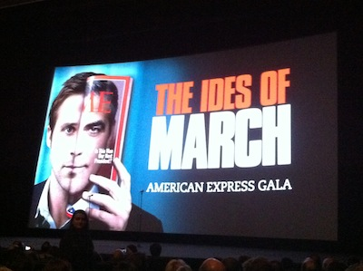 Ides of March at Odeon Leicester Square