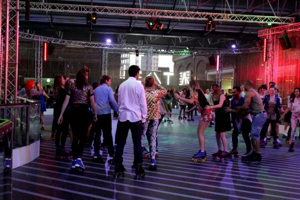 Roller skate disco london