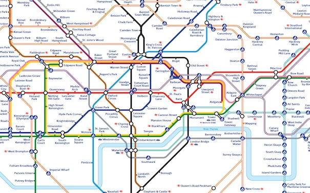 london underground tips