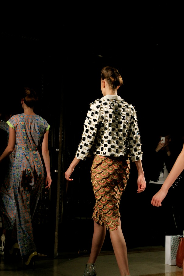 london fashion week tahir sultan