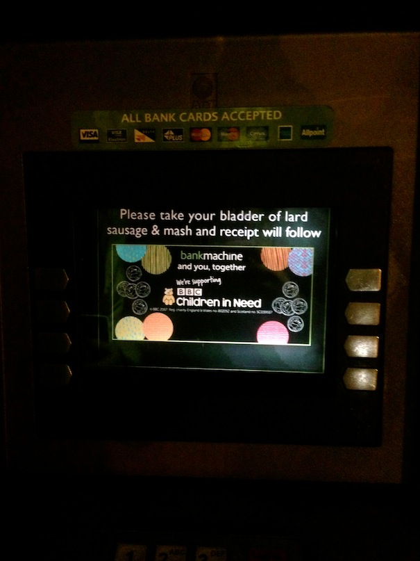 cockney cash machine