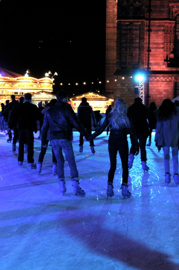 ice rink natural history museum