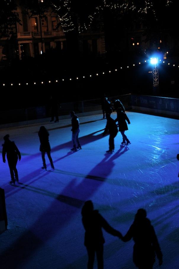 natural history museum ice skating rink