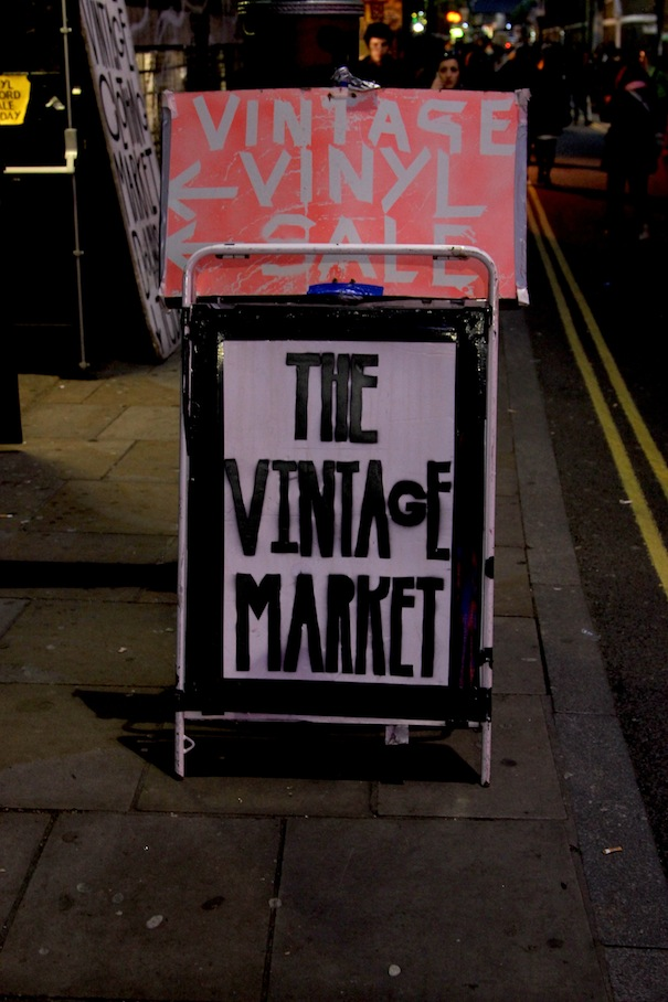 vintage shops in london