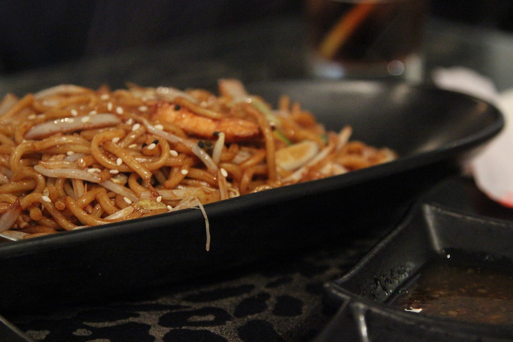 super sushi stir fried udon