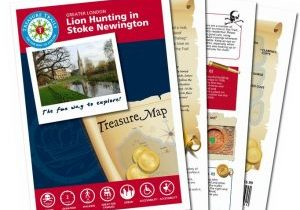 the-lion-hunting-in-stoke-newington-treasure-hunt-trail-fan